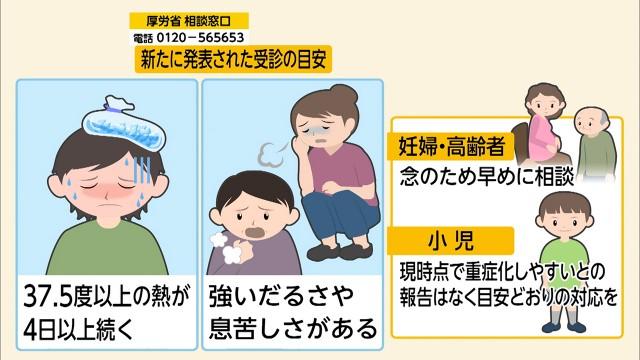 코로나19 검진 지침 일본 후생성 신종 코로나바이러스 검진 기준 발표! 4일 이상 고열 지속