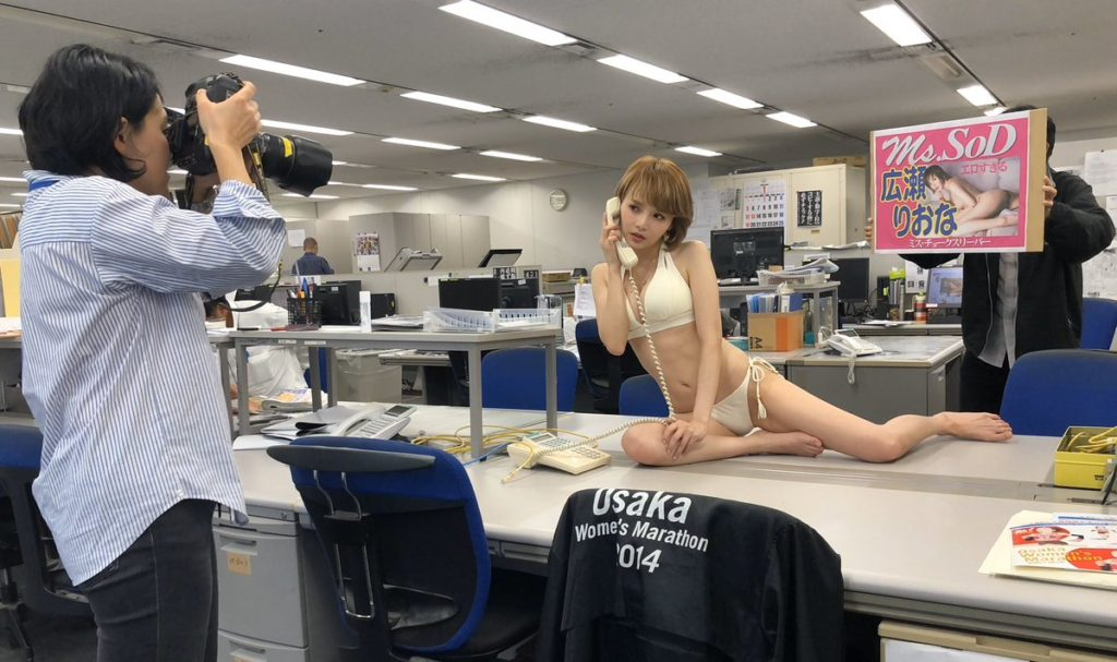 hirose riona1 1024x607 격투기 단련! 일본 레이싱모델 여배우 히로세 리오나 SOD 데뷔 신작