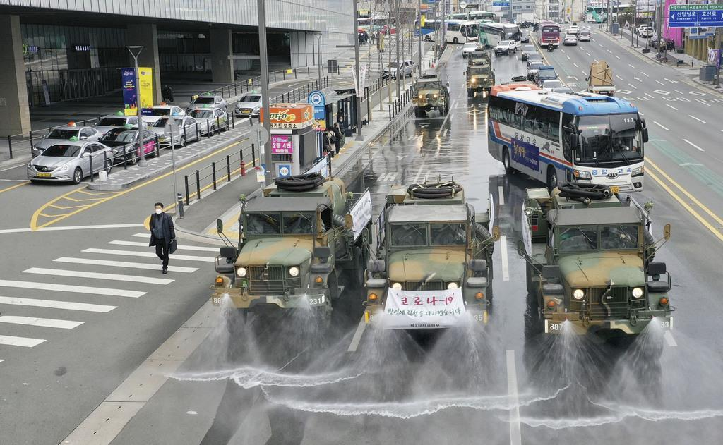 여행경보 도항중지 일본 외무성 신종코로나 확산 한국의 도항중지 지역 확대