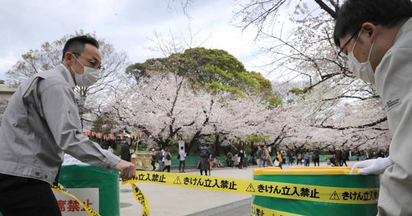 코로나 벚꽃놀이 27일 일본 신종 코로나바이러스 확진자 2236명(+123), 사망자 62명(+5)
