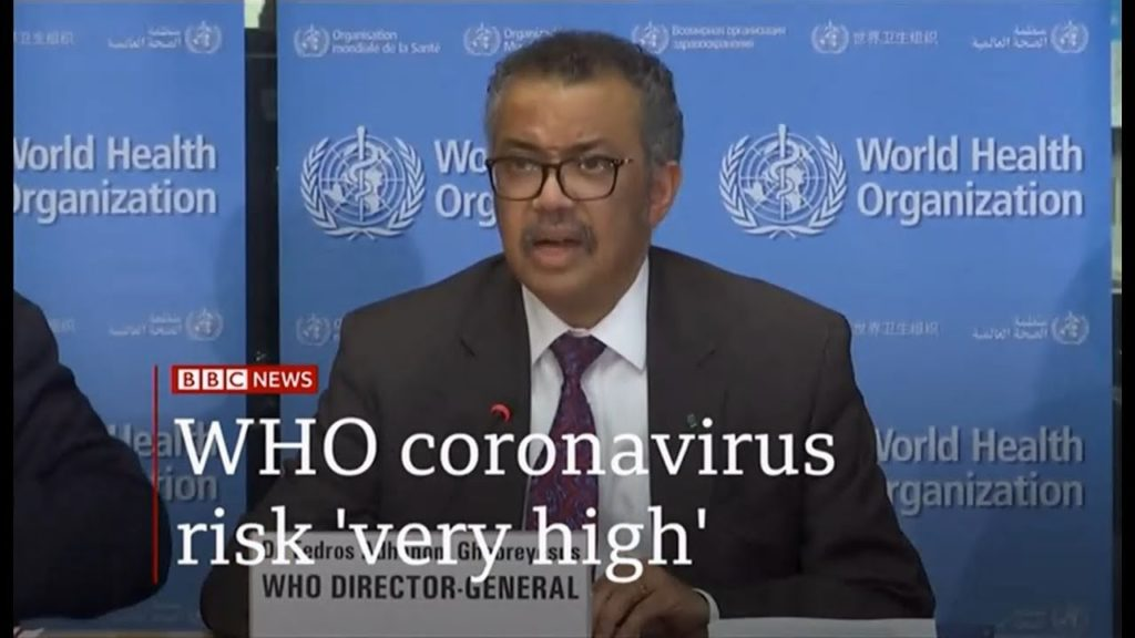 who coronavirus 1024x576 WHO 신종 코로나바이러스 조사보고서! 증상의 특징 및 치사율 분석