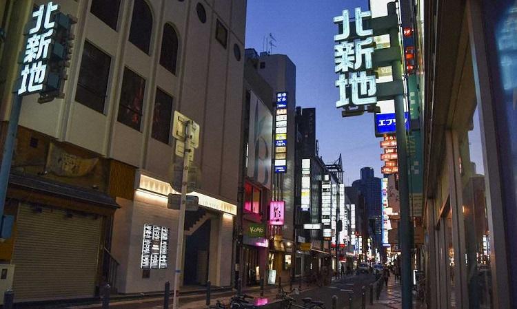 기타신치 코로나19 긴급사태 오사카 환락가의 유흥업소 일대에 도둑 기승