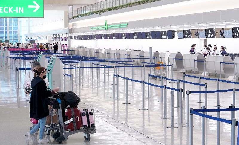 일본입국자 3월 일본 방문 외국인 90% 이상 급감! 입국자 15만 2천명