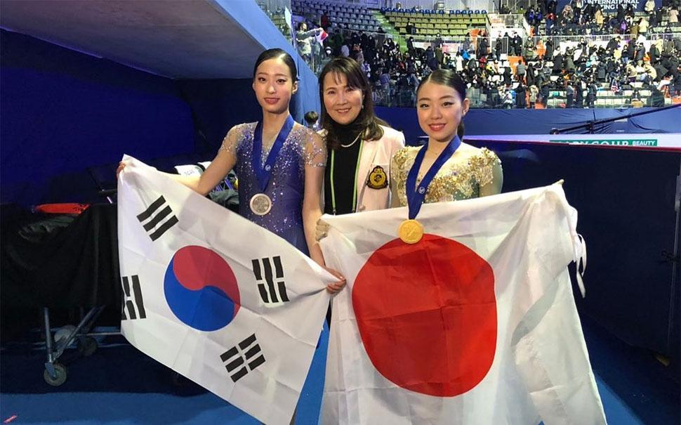 키히라 유영 피겨선수 일본 피겨스케이팅 대표 키히라 리카 여자싱글 세계랭킹 1위에