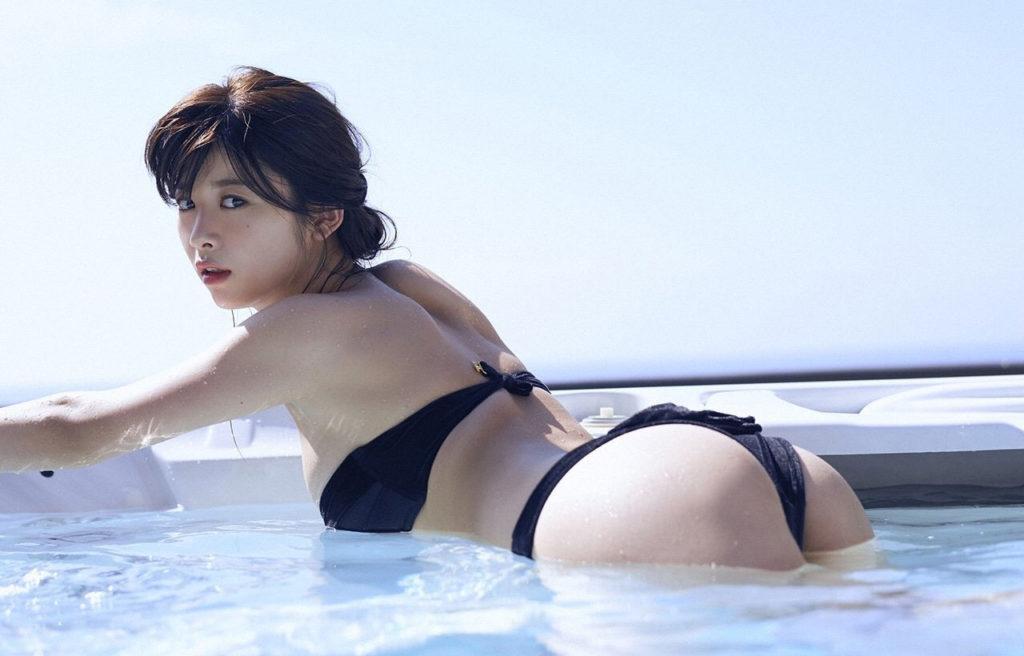 바바후미카 수영복 1024x656 모델겸 여배우 바바후미카 코로나19 양성반응! 8월 들어 사망자 급증