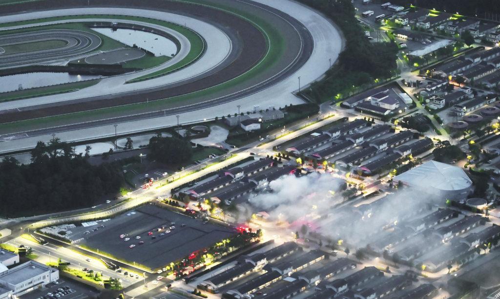 일본경마 화재사고 1024x612 일본중앙경마회 릿토 트레이닝센터 화재사고로 경주마 5두 사망